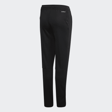 Children Soccer Black Girls' Tiro 19 Pants