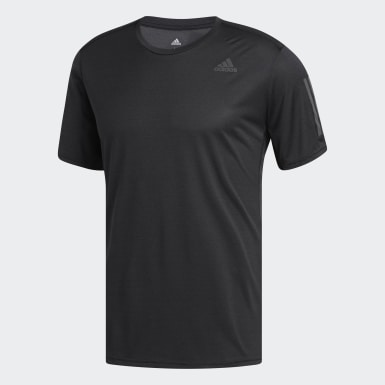 Playera Own The Run Cooler Negro Hombre Running