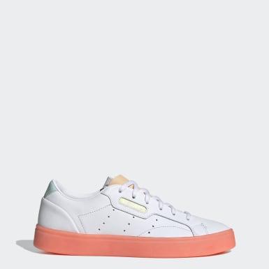 ผู้หญิง Originals สีขาว adidas SLEEK W
