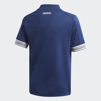 Børn Fodbold Blå Juventus 20/21 udebanetrøje