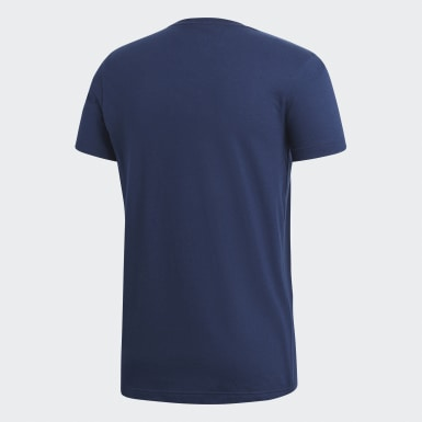 Polera BOS FOIL Azul Hombre Sport Inspired