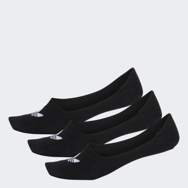 Originals สีดำ ถุงเท้าโลว์คัท