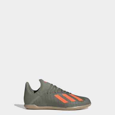 Chaussure X 19.3 Indoor Vert Enfants Football