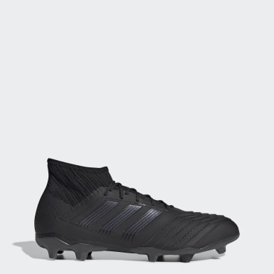 Kvinder Fodbold Sort Predator 19.2 Firm Ground støvler