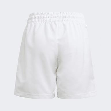 Kluci Tenis bílá Šortky Club Tennis 3-Stripes