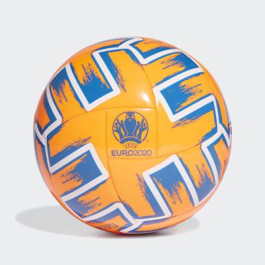 оранжевый Футбольный мяч Uniforia Club