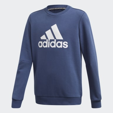 Jongens Training Blauw Must Haves Sweatshirt