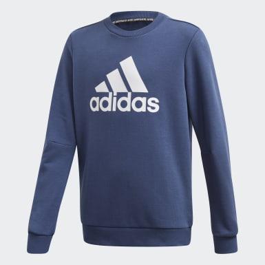 Sweat-shirt Must Haves Crew Bleu Garçons Training
