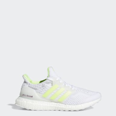 Women Running White Ultraboost 5 DNA Shoes