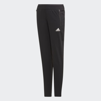 Youth 8-16 Years Training Black Woven Joggers