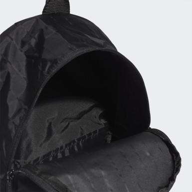 ผู้หญิง ไลฟ์สไตล์ สีดำ กระเป๋าสะพายหลังทรงคลาสสิก