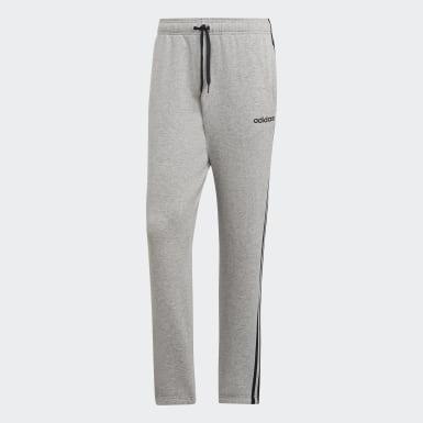 Men Lifestyle Grey Essentials 3-Stripes Pants