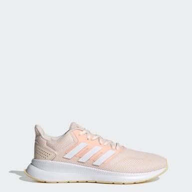 ผู้หญิง วิ่ง สีชมพู รองเท้า Runfalcon
