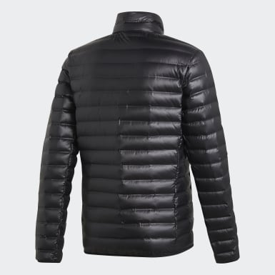 Men City Outdoor Black Varilite Down Jacket
