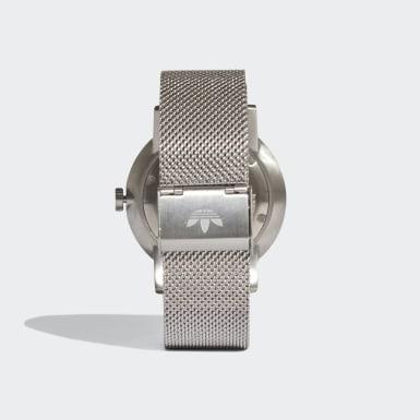 Relógio DISTRICT_M1 Prateado Originals