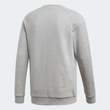 Männer Originals LOUNGEWEAR Trefoil Essentials Sweatshirt Grau
