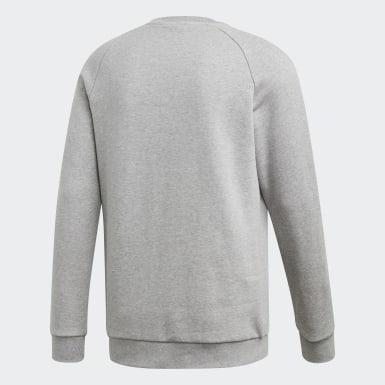 Sweatshirt Trefoil LOUNGEWEAR Essentials Cinzento Homem Originals