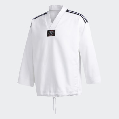 Men Originals White FA TKD Top