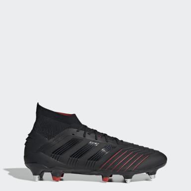 Chaussure Predator 19.1 Terrain gras Bleu adidas | adidas