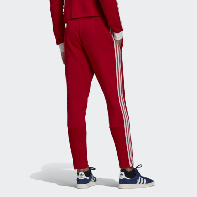 Men Football Red FC Bayern Icons Tracksuit Bottoms
