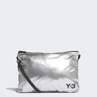Y-3 stříbrná Taška Y-3