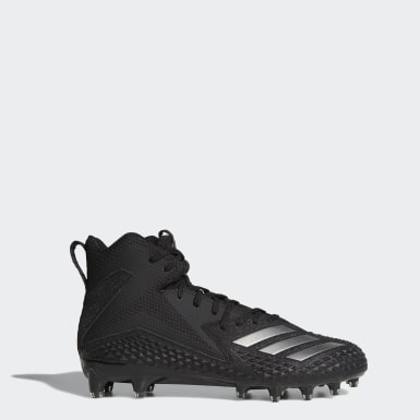 Men's Football Black Freak x Carbon Mid Cleats