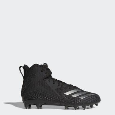 Men's Football Black Freak x Carbon Mid Cleats