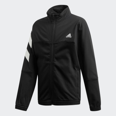 Boys Athletics Black XFG Cover-Up Track Jacket