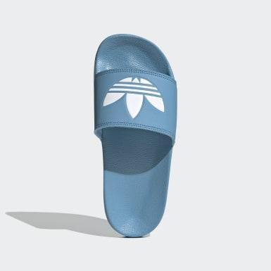 Sandalias adilette Lite Azul Mujer Originals