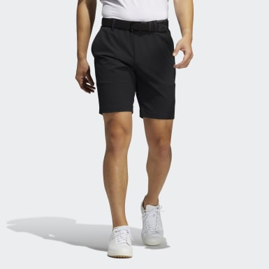 Men Golf Black Expose Shorts