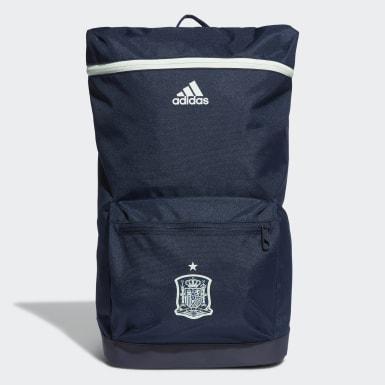 Mochila da Espanha Azul Futebol
