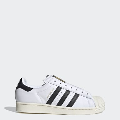Originals White Superstar Laceless Shoes