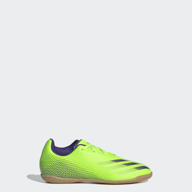 Children Soccer Green X Ghosted.4 Indoor Shoes