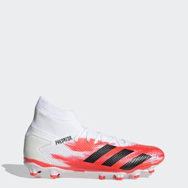 Fußball Predator 20.3 MG Fußballschuh Weiß