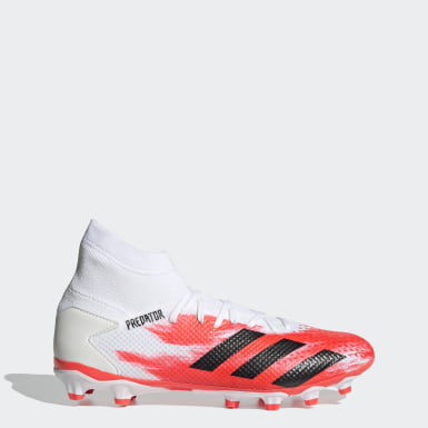 Fodbold Hvid Predator 20.3 Multi-Ground støvler