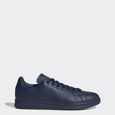 ผู้ชาย Originals สีน้ำเงิน รองเท้า Stan Smith