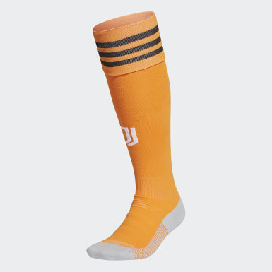 Football Orange Juventus 20/21 Third Socks