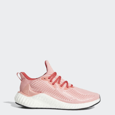 Women Running Pink Alphaboost Shoes