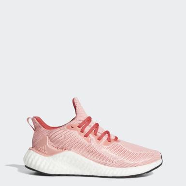 Sapatos Alphaboost Rosa Mulher Running