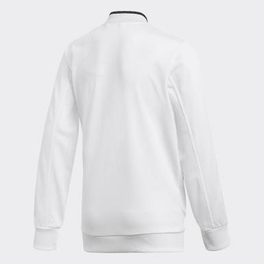 Kinder Training Condivo 18 Jacke Weiß