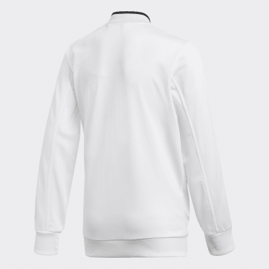 Kids Training White Condivo 18 Jacket