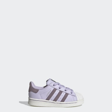 Chaussure Superstar pourpre Bambins & Bebes Originals