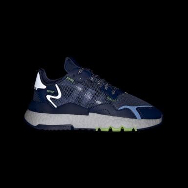 Chaussure Nite Jogger Bleu Enfants Originals