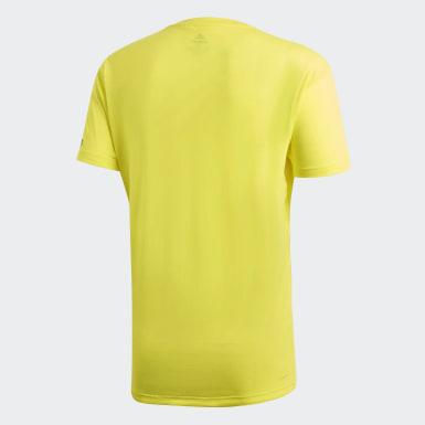 Men Training Yellow FreeLift Prime Tee
