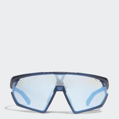 Occhiali da sole SP0001 Matte Blue Injected Sport Blu Padel Tennis