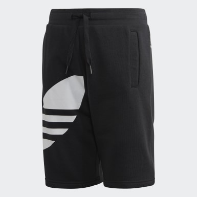 Kinder Originals Big Trefoil Shorts Schwarz