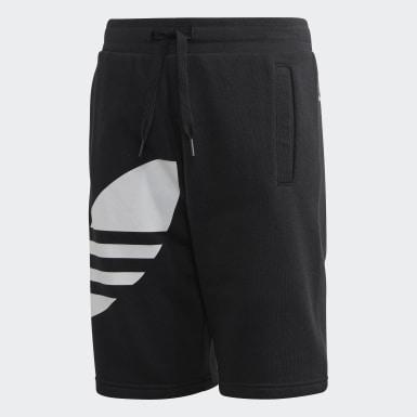 Shorts Gran Trifolio Negro Niño Originals