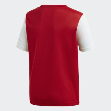 Camisa Estro 19 Vermelho Meninos Futebol