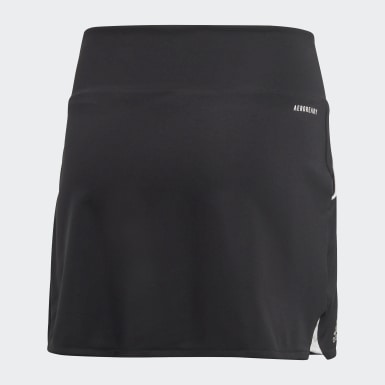 Kids Padel Tennis Black Club Skirt