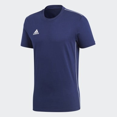 Men Training Blue Core 18 Tee